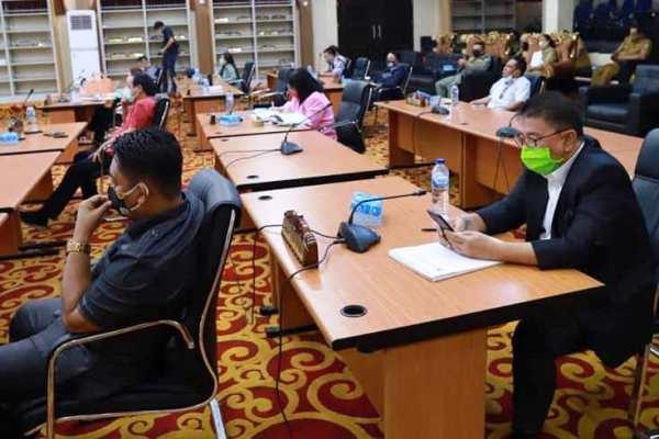 Sidang Paripurna Dewan Kota Manado Dengan Tiga Agenda Strategis