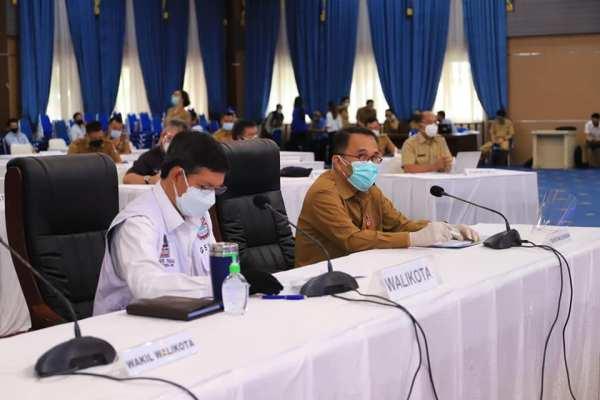 Melalui Zoom Meeting, Pemkot Manado Gelar Rapat Evaluasi SAKIP Bersama Kemenpan-RB