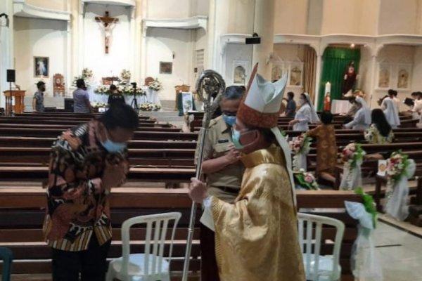 Dipimpin Uskup Manado, Sekdaprov Silangen Hadiri Misa Syukur 100 Tahun Tarekat MSC