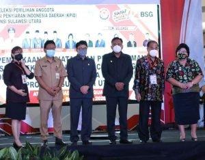 Dinilai Transparan, Gubernur Olly Apresiasi Seleksi Komisioner KPID Sulut