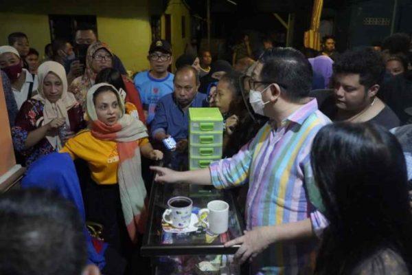 Mor Bastiaan Kunjungi Korban Kebakaran Di Kampung Arab