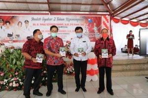 Wagub Kandouw Apresiasi Kepemimpinan 2 Tahun Roy Roring-Robby Dondokambey di Minahasa