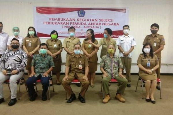 Sulut Utus Peserta Pertukaran Pemuda Indonesia-Australia