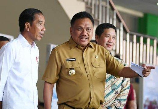 ODSK Dukung Penuh, Konbes Ansor Minahasa Hadirkan Jokowi