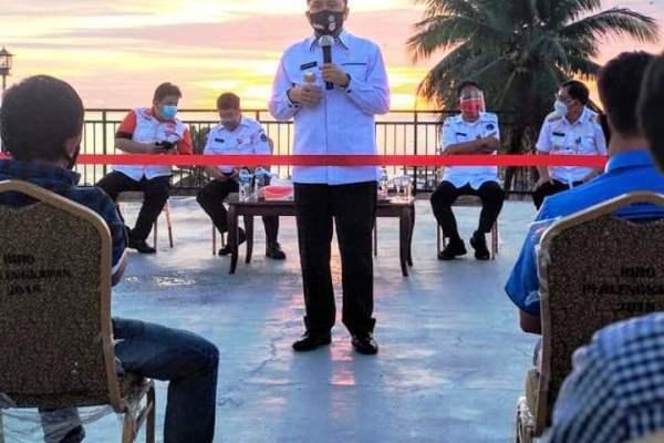 """""""Torang Samua Ciptaan Tuhan"""" Pjs Agus Fatoni  Pererat Kemitraan Bersama Anggota JIPS"""