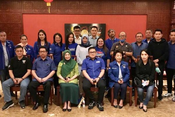 Mangindaan Digantikan oleh Pangerang PLT Ketua DPD Partai Demokrat Sulut