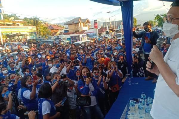 Tim Rajawali Deklarasikan Dukungan Politik ke MOR-HJP