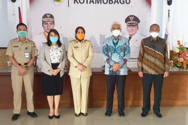 Bank SulutGo Lakukan Penandatangan PKS Bersama Walikota Tatong Bara