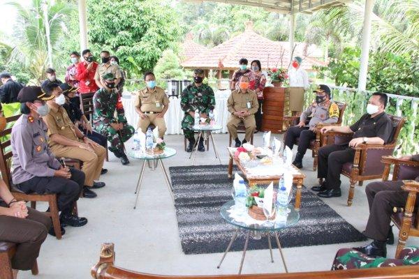 Perkuat Silaturahmi dan Sinergitas, Pjs Gubernur Fatoni Bersama Forkopimda Marathon Sambangi Minut, Minahasa dan Tomohon