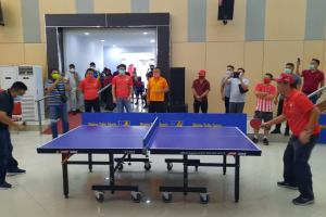 Steven Kandouw Buka Kejuaraan Tenis Meja ODSK Cup