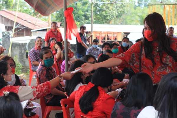 Dokter Devi Sosialisasikan Pentingnya Pakai Masker dan Cuci Tangan