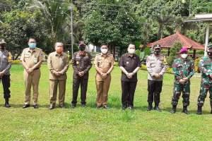 Jelaskan Kondisi Minut, Pjs Bupati Clay Terima Kunjungan Pjs Gubernur Fatoni dan Forkopimda Sulut