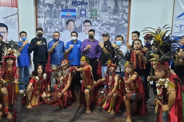 Militan JIMBARO All Out Menangkan MOR-HJP
