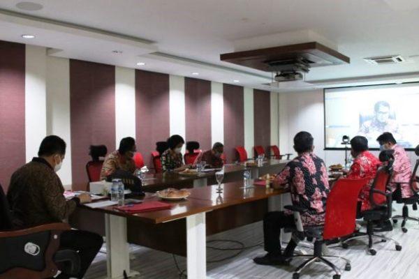 Samakan Persepsi, Dirjen Otda Kemendagri Gelar Vidcon Soal Penggantian Penjabat Hukum Tua di Minsel