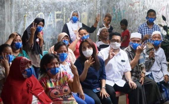 MOR Siap Jadi Walikota Semua Warga Manado, Temui Tokoh Agama dan Warga Kampung Tali