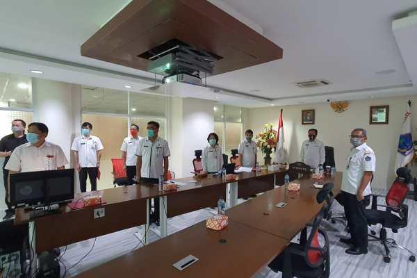 Dipimpin Wapres Ma'ruf Amin, Pjs Gubernur Fatoni Ikuti Kampanye Virtual Gerakan Nasional Netralitas ASN dalam Pilkada 2020