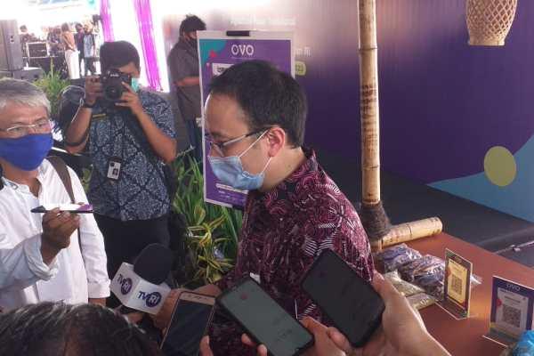 OVO Digitalisasi Pasar Manado Bersama Wakil Menteri Perdagangan, Dorong Adaptasi Teknologi Digital dan QRIS