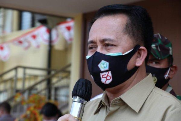 Pjs Gubernur Sulut Fatoni Terus Gaungkan Gerakan Sulut Bermasker