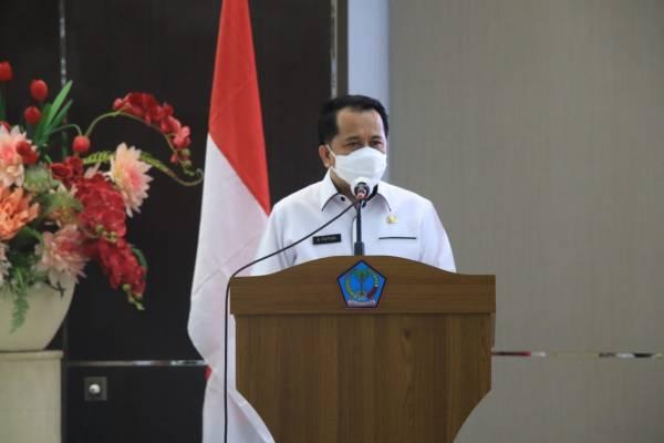 Pjs Gubernur Sulut Agus Fatoni: Inmendagri No. 6 Tahun 2020 Menjadi Pedoman Penegakan Protokol Kesehatan