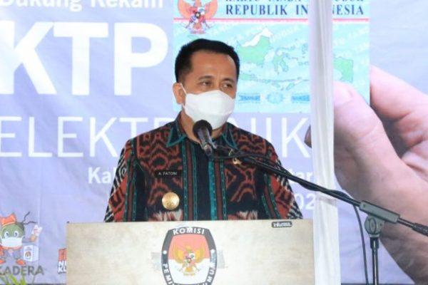 Lindungi Hak Pilih, Pjs Gubernur Fatoni Apresiasi Gerakan Dukung Rekam KTP-El