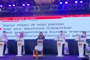Lebih Realistis, Relevan dan Terukur, Mor Bastiaan Tampil Elegan Dalam Debat Pilkada Manado