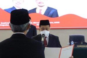 Pjs Gubernur Fatoni Kukuhkan Dedi Hardi Sebagai Kepala Kanreg XI BKN Manado