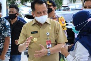 Pjs Gubernur Fatoni Tinjau Kesiapan RSUD Kotamobagu sebagai RS Rujukan Pasien C-19