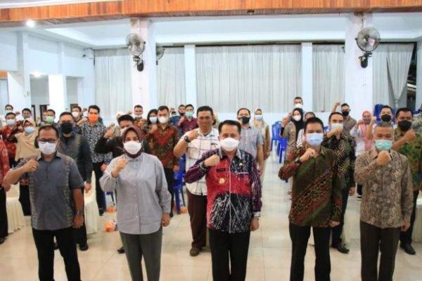 Pjs Gubernur Fatoni Beri Motivasi Purna Praja Se-Bolmong Raya