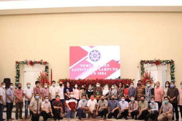 Pjs Gubernur Fatoni Ajak Alumni Latsitarda Nusantara Lampung 1994 Terus Perkuat Silaturahmi