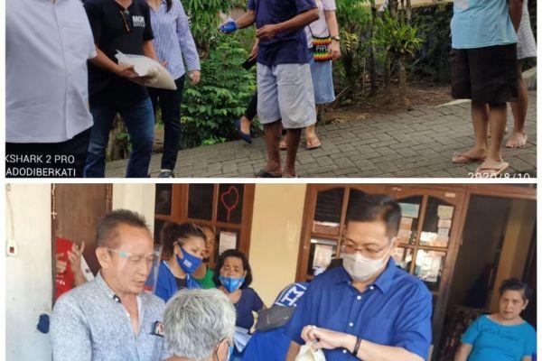 Warga Manado: MOR-HJP Bukan yang Terkaya Tapi yang Paling Peduli di Saat Pandemi
