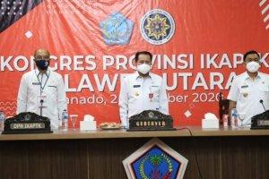 Buka Kongres IKAPTK Sulut, Pjs Gubernur Fatoni Ingatkan Pentingnya Semangat Kekeluargaan dan Profesionalisme