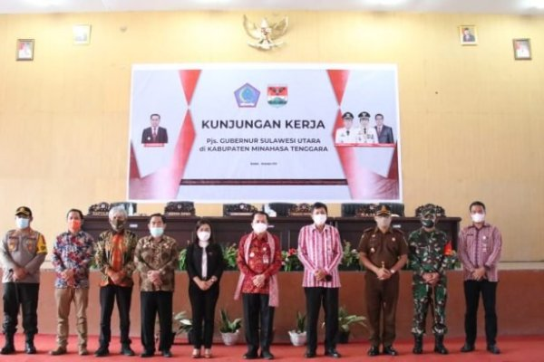 Tatap Muka dengan ASN Mitra, Pjs Gubernur Fatoni Bahas Netralitas Pilkada, Penanganan C-19 dan Antisipasi Bencana