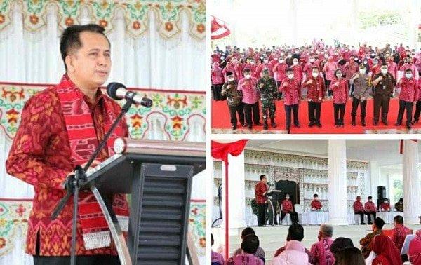 Kunker di Bolmong, Pjs Gubernur Fatoni Ingatkan Pentingnya Loyalitas, Totalitas dan Militansi ASN