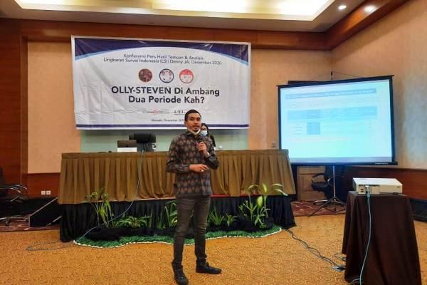 LSI Prediksi Olly-Steven Bakal Pecahkan Rekor Pilkada di Indonesia