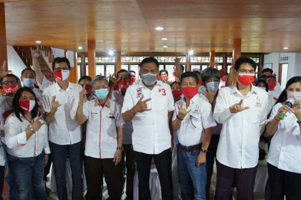 Seknas Jokowi Rapatkan Barisan Dukung Olly-Steven