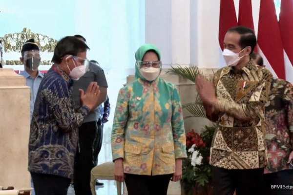 Walikota GSVL Hadiri Munas Apeksi, Presiden RI Joko Widodo Tegaskan Pandemi Belum Berakhir, Kita (Para Walikota) Tetap Bekerja Keras