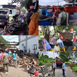 KABAR BAIK : ODSK Kerahkan 50 Truk Angkut Tumpukan Sampah di Manado
