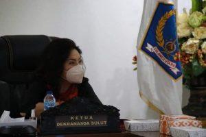 Dibuka Ibu Negara Iriana, Rita Tamuntuan dan Kartika Devi Tanos Ikuti Rakernas Dekranas 2021