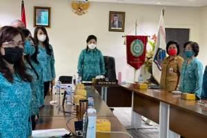 Ibu Rita dan Ibu Devi Ikuti Pembukaan Rakernas IX PKK, Ini Pesan Ny Tri Tito Karnavian