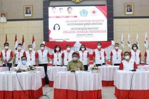 Gubernur Olly Apresiasi Peran Kemanusiaan PMI dalam Masyarakat Sulut