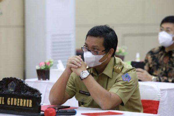 Wagub Kandouw Ikuti Rakor Kada-Wakada Hasil Pilkada 2020 yang Dipimpin Jokowi, Ini Hasilnya