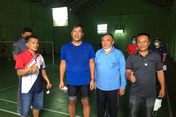 Gowes Sambangi PB Nawacita Keter Kawangkoan, Wagub Kandouw Beri Motivasi Atlet Usia Dini
