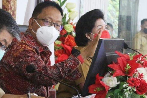 Sekdaprov Silangen Pimpin Rapat Verval Pokir DPRD Sulut, Ini Tujuannya