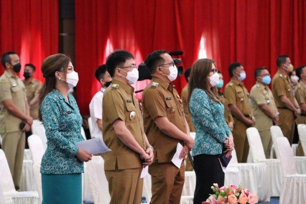 AARS Ibadah Perdana Bersama ASN Pemkot Manado