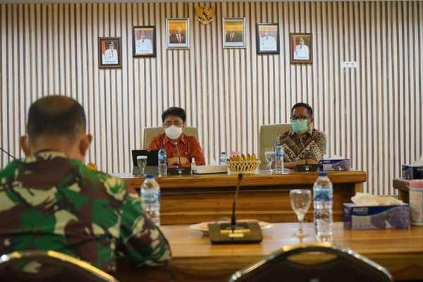 AARS Pimpin Rakor Satgas Covid19, Walikota Berharap Masyarakat Mau di Vaksin