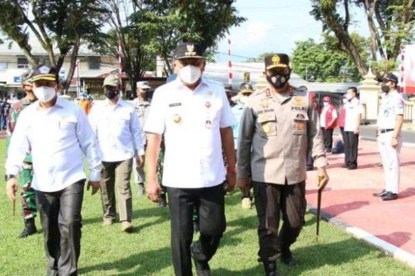 Amankan Idul Fitri, Gubernur Olly Irup Operasi Ketupat Samrat 2021