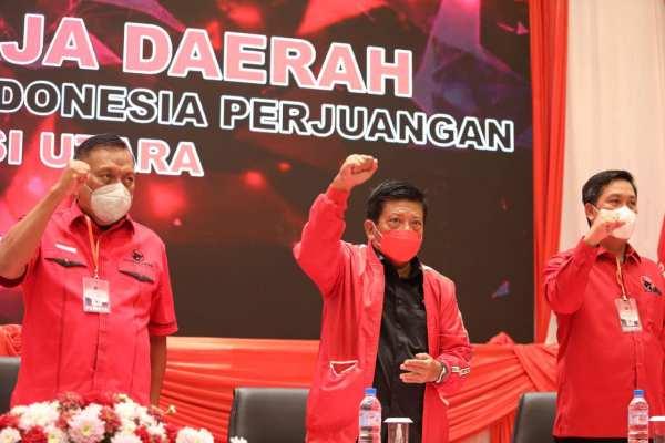 Hasil Rakerda PDIP Sulut Usung Puan Maharani Capres 2024