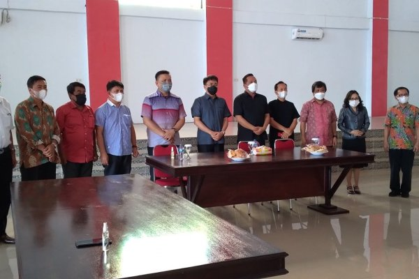 Walikota – Wakil Walikota Manado Lakukan Pertemuan Bersama Pimpinan KGPM