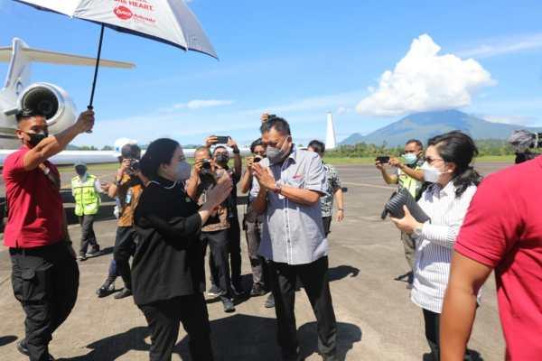 Selamat Datang di Manado! Ketua DPR RI DR (H.C) Puan Maharani