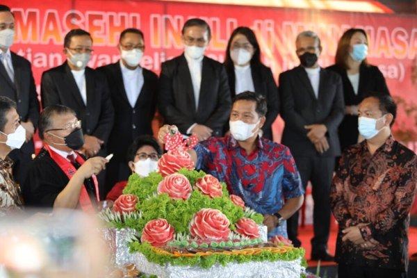 Wagub Kandouw Harap GMIM Jadi Motor Hasilkan Human Capital Bagi Sulut Saat Hadiri HUT ke-190 PI dan Pendidikan Kristen